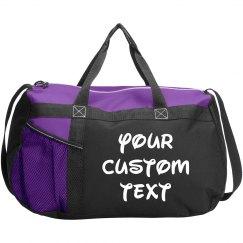 Personalized Gym Sports Duffel Bag