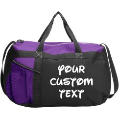 Personalized Gym Sports Duffel Bag
