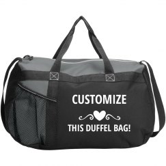 45fe5e1362ba Customize This Duffel Bag