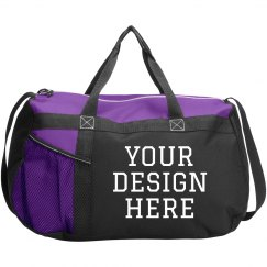 Your Design Here Custom Duffel