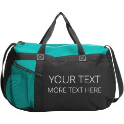 Add Custom Text To This Duffel
