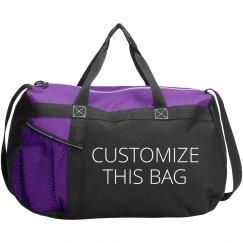 Customizable Text & Art Duffel Bags