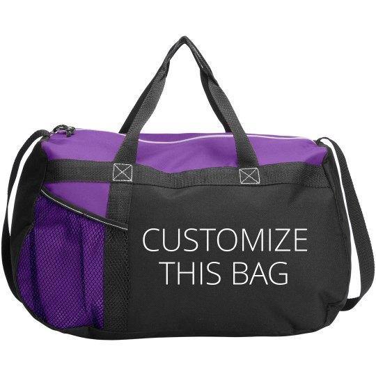 Customizable Text   Art Duffel Bags Gemline Sequel Sport Duffel Bag db03a721d68b5