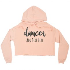 PERSONALISED HOODY /& BARREL BAG SET DANCE BAG 2 DANCERS Back to School
