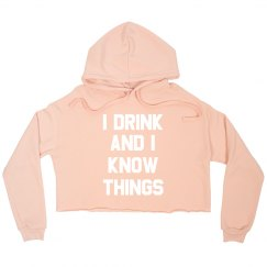 Custom Funny Drink And Know Things
