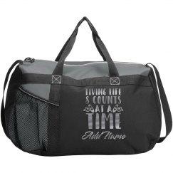 Custom Metallic Dance Bag