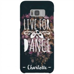 Live For Dance Custom Phone Case