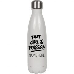 Custom Dancer Name Water Bottle
