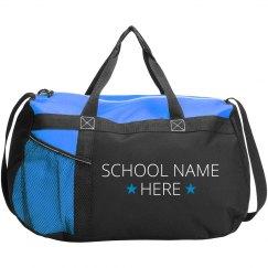 Custom School Star Duffel Bag