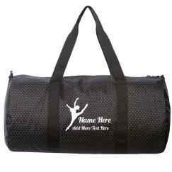 Custom Name Dancer's Bag