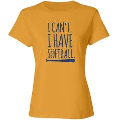 I Have Softball