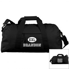 Male Cheerleader Gear Bag WIth Custom Name