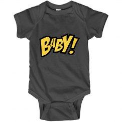 Comic Baby! Onesie