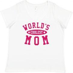 World's Coolest Mom Plus Tee