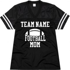 Custom Team Name Football Mom