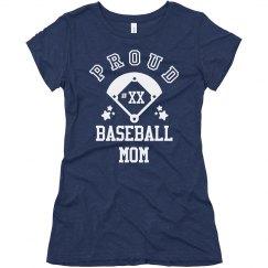 Cute & Custom Baseball Mom