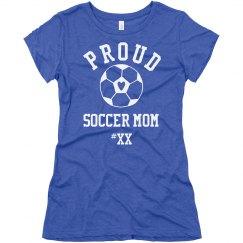 Proud Soccer Mom Fan