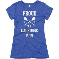 Pride Lacrosse Mom Fan