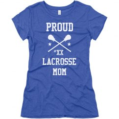 Pride Lacrosse Mom Fan