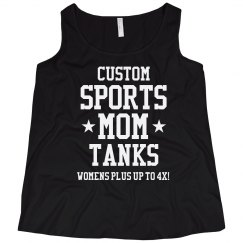Custom Plus Sized Sports Mom Tank
