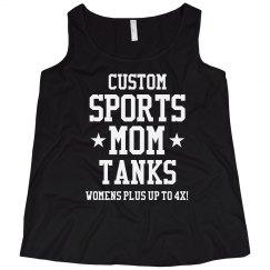 Custom Plus Sized Sports Mom Tank