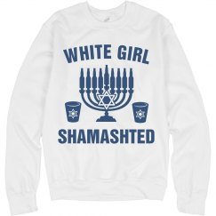 White Girl Wasted Menorah