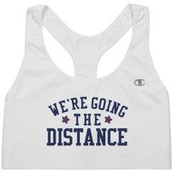 Going the Distance Runner Sportsbra