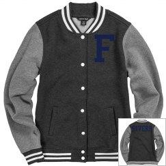 Letterman's Jacket: Front Letter - Back Name