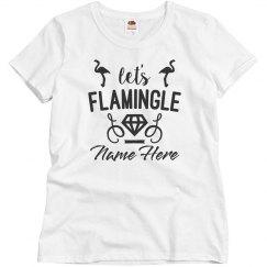 Let's Flamingle Custom Bachelorette
