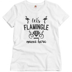 Let's Flamingle Custom Bachelorette