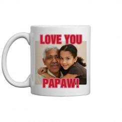 Grandparents Photo Mug