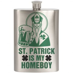 St. Patrick's Homeboy Flask