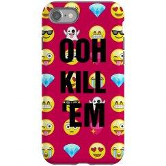 OOH KILL EM Emoji Case