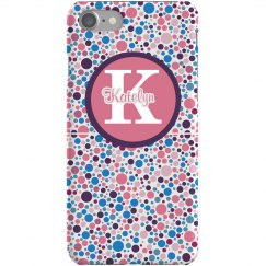 Flower Color Dots Case