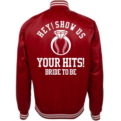 Show Us Your Hits Baseball Bachelorette Bride To Be
