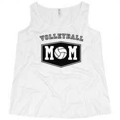 Certified Volleyball Mom Plus Tank
