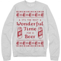 Beer Me Ugly Sweater