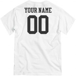 Custom Name Number Team Shirts