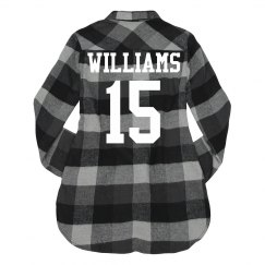 Trendy Custom Plaid Sports Mom
