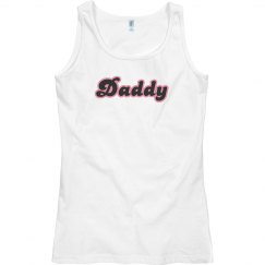 Daddy Pink Outline Tank