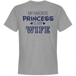 My favorite princess is my wife