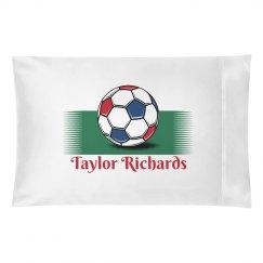 Taylor Custom Pillowcase
