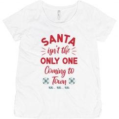 Christmas Maternity Custom Due Date