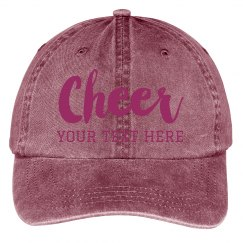 Create Your Own Cheer Team Hat