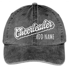 Cheerleader Custom Name Spirit Gear