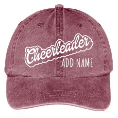 Cheerleader Custom Name Spirit Gear