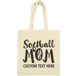 Custom Softball Mom Totes