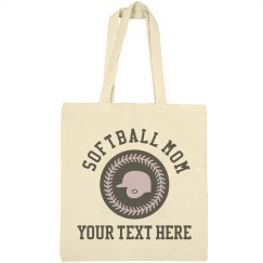 Custom Softball Mom Personalized