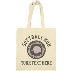 Custom Softball Mom Personalized