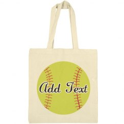 Custom Text Softball Mom